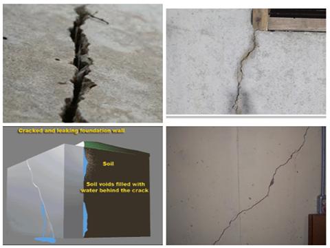 Foundation Crack Repair   Umbrella Basement Waterproofing